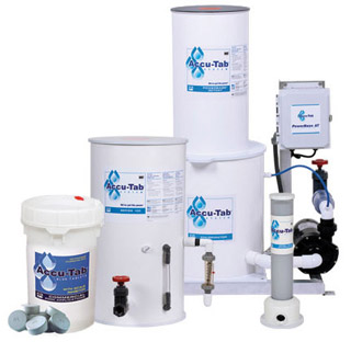 Treat Water In Fountains Accu Tab System Aquatics Accutab